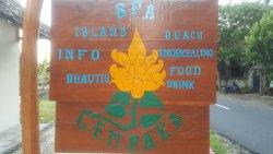 Cempaka Spa Beach Warung