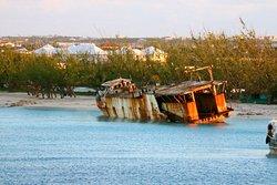 Ship Wreck & Governor beach from the Ship