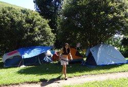 Na Pousada Serras Verdes tambem tem camping