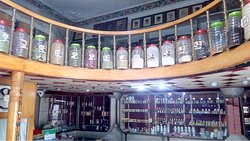 A view of our family store simple and unique.. incense and natural perfumes