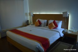Bed in the room