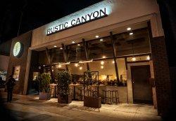 Rustic Canyon