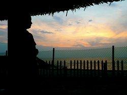 best sunset view in Marari