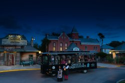 Ghosts and Gravestones St. Augustine Frightseeing Tour