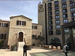 Роскошный отель в центре Иерусалима
