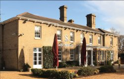 Slepe Hall Hotel in the sunshine