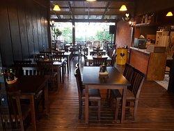 Vista geral do restaurante