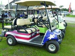 Wheelie Fun Golf Carts
