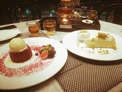Marakish Tea with Yummy Cakes