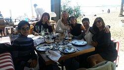 Estupenda reunión de amigas, las chicas de Élite Sports.