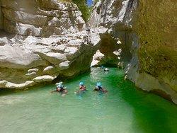 Azur canyoning