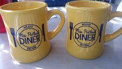 diner style coffee mugs ... we purchased one for $10.00.