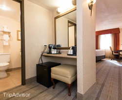 The Standard Double Room at the Holiday Inn Dallas Market Center