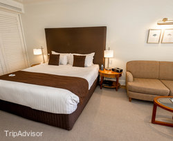 The Standard Room at the Pullman Reef Hotel Casino