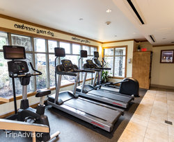 Fitness Center at the Pan Pacific Whistler Village Centre