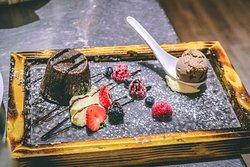 indulgent dessert menu