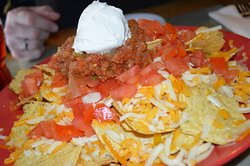 Nachos without melted cheese?