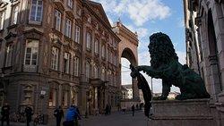Löwen an der Residenz