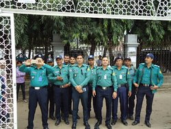 Dhaka Police officials.