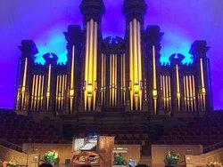 Conciertos del organo en el Tabernaculo