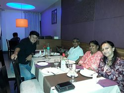 Dinner with family