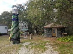 Carrabelle Bottle House