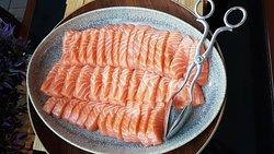 Thick, generous slices of sashimi
