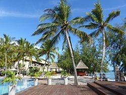 Hôtel charmant, comme l'île est charmante et sa population est charmante.