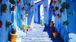 La cuidad azul - Marruecos