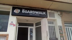 Boardwalk bar and dining