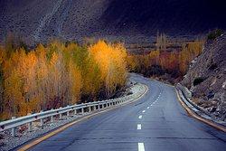 Karakuram Highway Hunza Pakistan