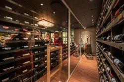 Wine, vinyl and Mediterranean ham and cheese