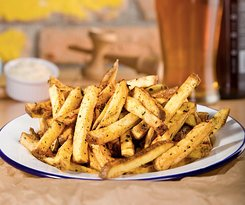 House-cut fries, coated in our house-blended spice mix. Addictive.