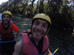 rio manso a la frontera con mucha felicidad