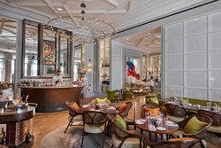 The Rosebery Lounge at Mandarin Oriental Hyde Park, London