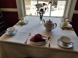 Manor House Tea at Rosemont Manor.