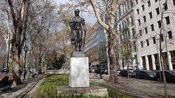 Estátua de Simon Bolivar