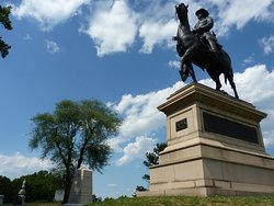 Equestrian Monument to Major General Winfield Scott Hancock