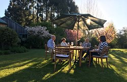 Canapes & wine each evening with your hosts
