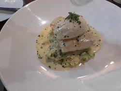 Smoked Haddock, Colcannon mash and poached egg