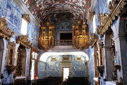 Arrière de l'église en orgue