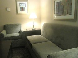 Nice Couch and Chair Sitting Area, BW Plus St. Rose Pkwy