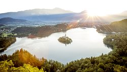 Lake Bled and Bled Island