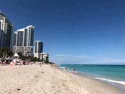 Nice beach area.