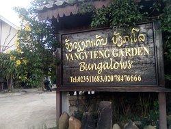 Vang Vieng Garden Bungalow