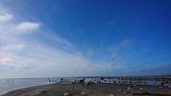 Beachen Olofsbo havsbad