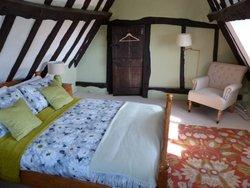 Riverside room bedroom