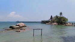 Beautiful beach resort in Batam