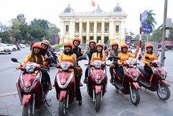 摩托车城市观光