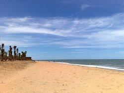 La plage de Warang